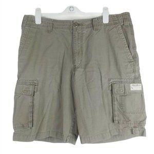 Eddie Bauer Mens Khaki Cargo Shorts Outdoors Hikin